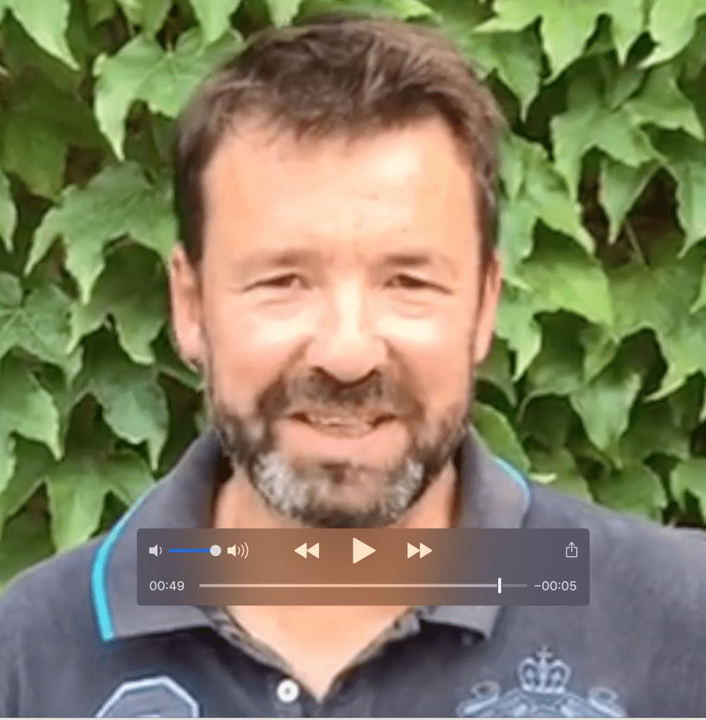 Emmanuel Persard Chef de cave Luc Sur Orbieu