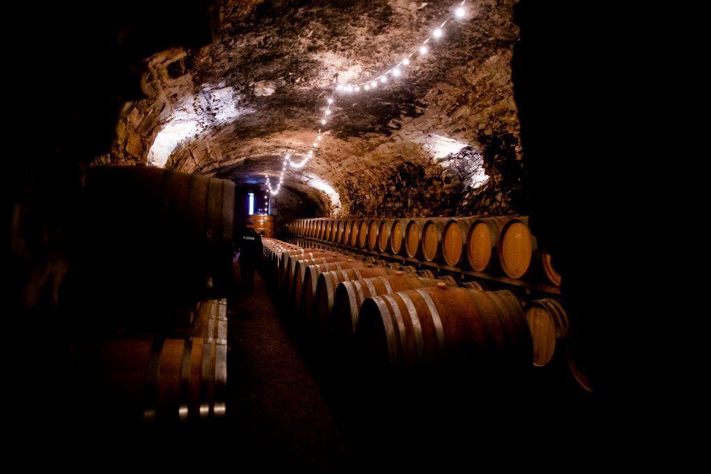 Cave souterraine Chateau de Luc