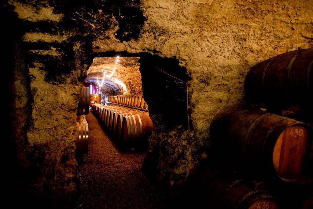 Chateau de Luc cave souterraine