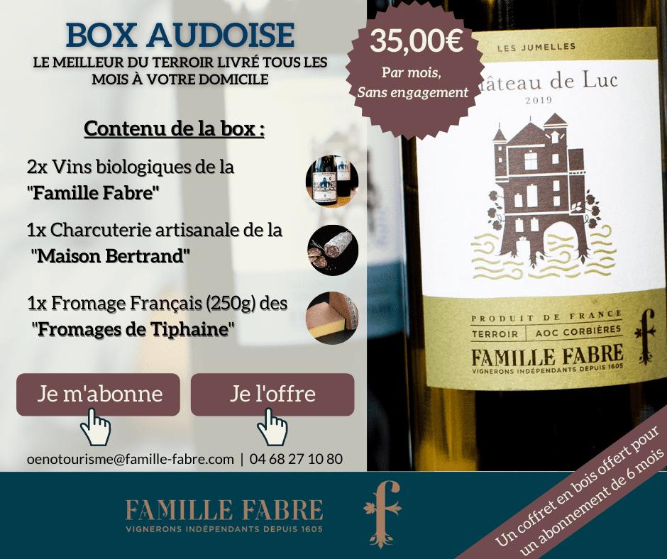 Box AUDOISE FAMILLE FABRE
