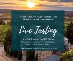 Live Tasting - Famille Fabre