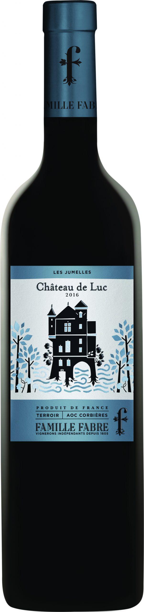 Chateau de Luc les jumelles