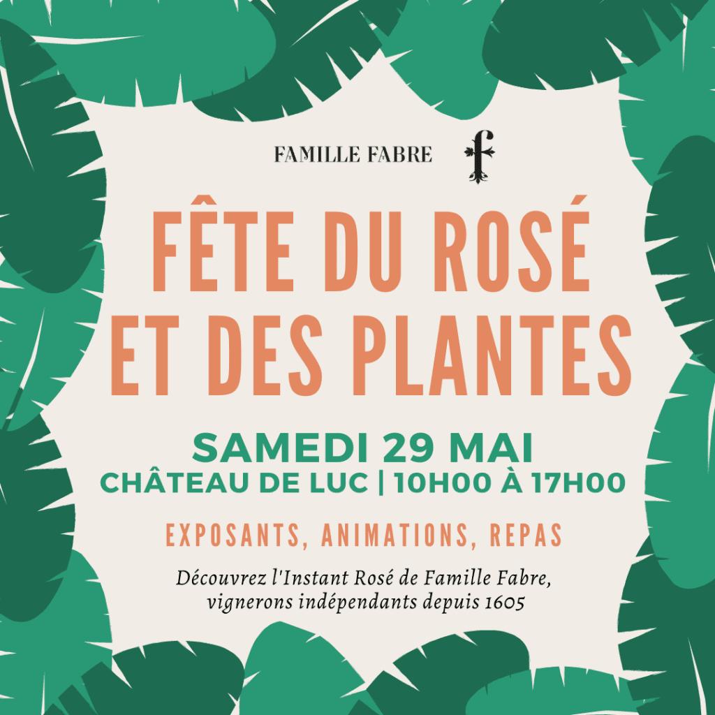 Fête du Rosé et des plantes