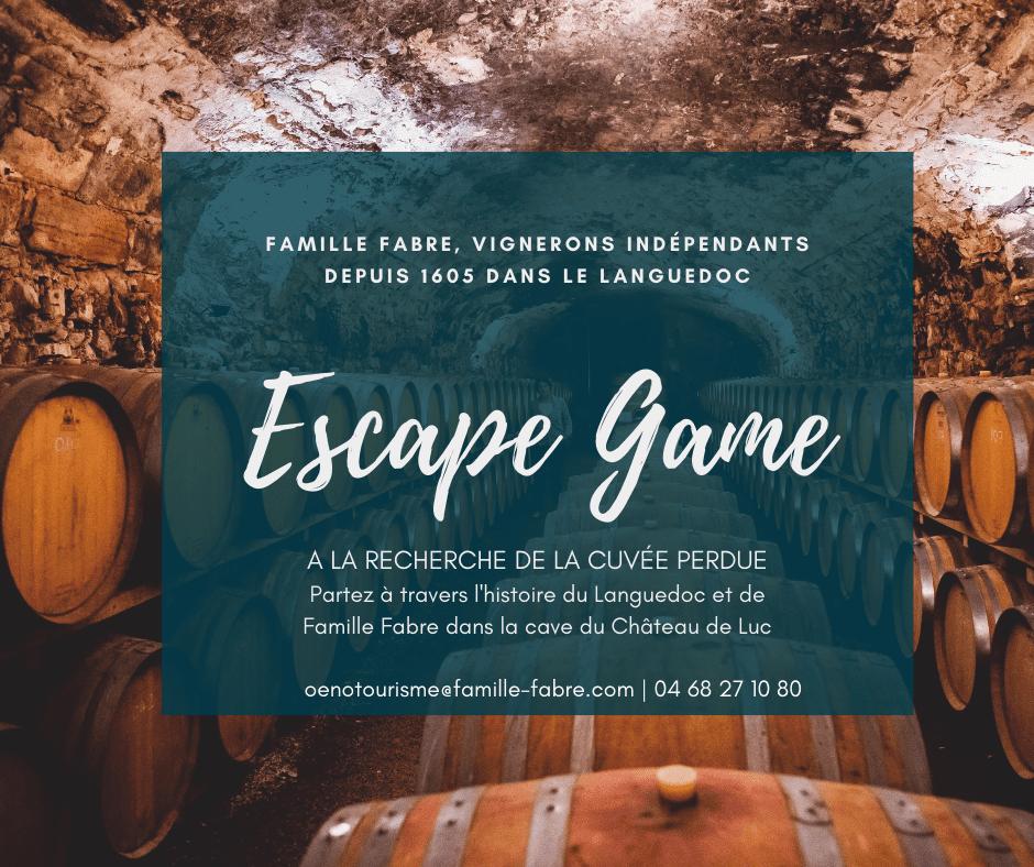 Escape Game Château de Luc